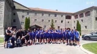 Se acaba la concentración del Real Zaragoza tras 7 días en Boltaña