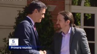 80 días de negociaciones y desencuentros entre Sánchez e Iglesias