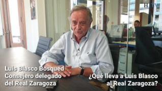 """Luis Blasco Bosqued: """"Soy un convencido de que este va a ser año del Real Zaragoza"""""""