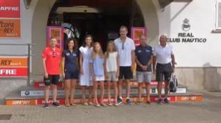 La Familia Real comienza sus vacaciones en Palma