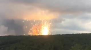 11.000 desalojados en Siberia por una sucesión de explosiones