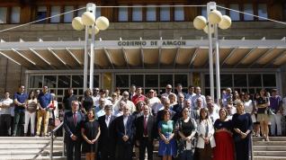 Minuto de silencio en la DGA por el adolescente asesinado en Andorra