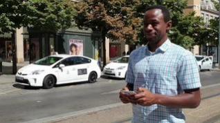 Una aplicación de móvil traslada las ventajas de los VTC a la flota de taxis de la ciudad