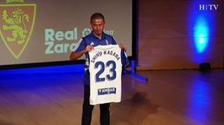 "Kagawa: ""Vengo a Zaragoza para subir a Primera"""