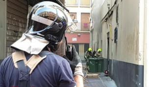 Arde la cocina del céntrico restaurante Albarracín de Zaragoza