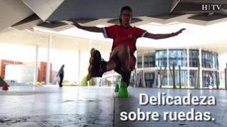 Paula Royo, una campeona que vence la gravedad