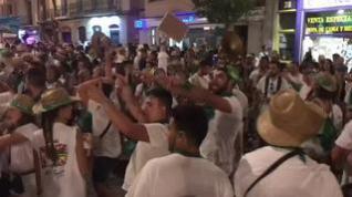 Así ha sido la última salida de los toros de las peñas recreativas de Huesca