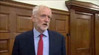 Corbyn pide ser primer ministro para evitar un 'brexit' sin acuerdo