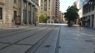 Zaragoza se 'vacía' durante el puente de agosto