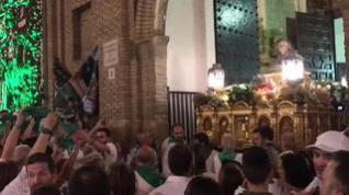 Despedida de las peñas recreativas a San Lorenzo