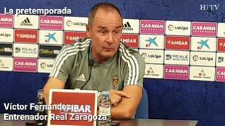 """Víctor Fernández: """"No estamos al 100% pero sí que estamos a un nivel para ganar"""""""