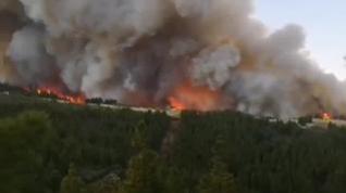 Incendio en Gran Canaria: más de 400 hectáreas quemadas y 2.000 evacuados