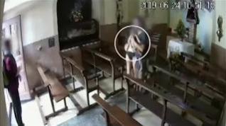 Recuperan el Cristo robado de la capilla de una localidad catalana