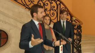 Casado plantea a Cs la posibilidad de una alianza electoral si hay nueva convocatoria