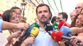 """Garzón cree """"legítima, válida y razonable"""" la propuesta de Unidas Podemos"""