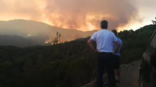 El incendio de Estepona avanza sin control y ya ha quemado 280 hectáreas