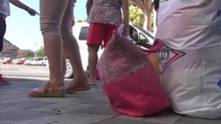 Regreso a casa de los vecinos desalojados por el incendio de Gran Canaria