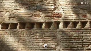 La muralla medieval que abraza Zaragoza