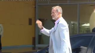 El Rey Felipe y doña Sofía acuden al hospital donde es operado don Juan Carlos