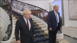 """Trump promete un """"gran acuerdo comercial"""" con Reino Unido tras el Brexit"""