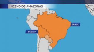Brasil intensifica sus esfuerzos ante el avance de las llamas en la Amazonía