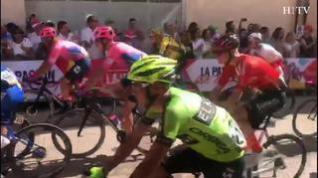 Mora de Rubielos vive la salida de la sexta etapa de La Vuelta
