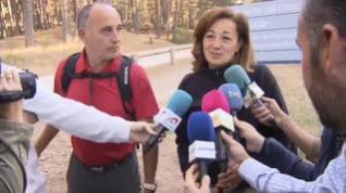 """La familia de Blanca Fernández Ochoa reanuda su búsqueda con """"esperanza e ilusión"""""""