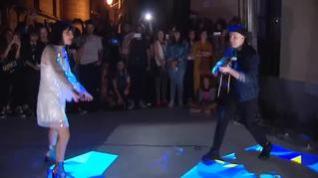 Amaral sorprende a sus fans con un concierto en plena calle