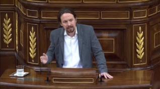 Iglesias pone de ejemplo el acuerdo de Gobierno de coalición en Italia