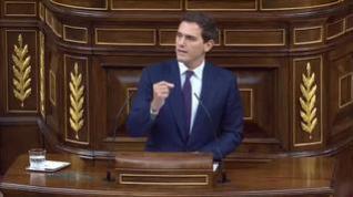 Rivera insiste en en aplicar el 155 durante el pleno del Consejo Europeo