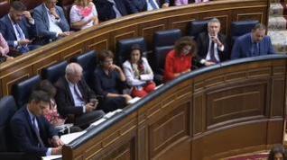 Sánchez e Iglesias escenifican su desencuentro en el Congreso
