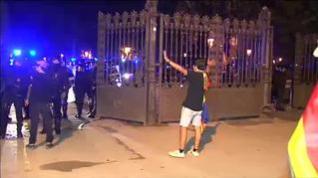 La Diada termina con fuertes disturbios frente al Parlament
