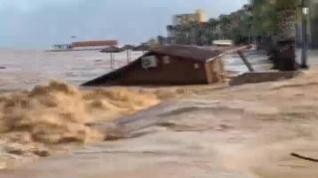 Los Alcázares, en Murcia, sufre unas inundaciones peores aún que las de 2016