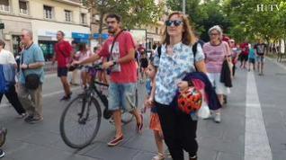 La I Marcha Familiar Sostenible abre la Semana de la Movilidad en Zaragoza