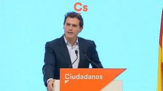 Albert Rivera ofrece la abstención de C's en la investidura con tres condiciones