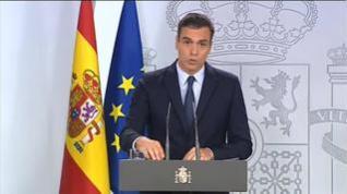 """Pedro Sánchez: """"Lo he intentado por todos los medios, pero nos lo han hecho imposible"""""""