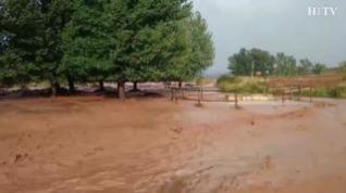 Inundaciones en pedanías de Teruel