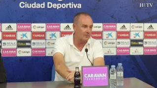 """Víctor Fernández: """"Estamos capacitados para dar lo mejor de nosotros mismos frente al Lugo"""""""