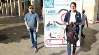 Aragón, pueblo a pueblo, puebla el Paseo de la Independencia de Zaragoza