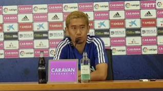 """Kagawa, del Real Zaragoza: """"Si me llama la selección japonesa, iré"""""""