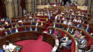 Resumen del lío en el Parlamento de Cataluña