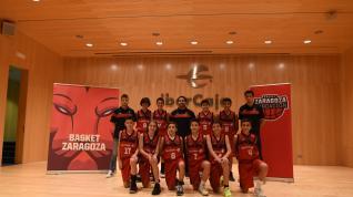 Puesta de largo de la cantera de Basket Zaragoza en Ibercaja
