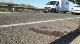Un fallecido y siete heridos en un accidente en Fuentes de Ebro (Zaragoza)