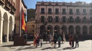 La Guardia Civil comienza los actos de celebración de su patrona en Huesca