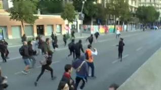 Crece la tensión en las calles de Girona