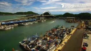 Asombrosa caída de un puente en Taiwan