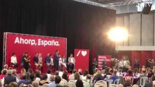 """Pedro Sánchez pide en Huesca el """"último esfuerzo"""" para lograr un gobierno estable"""
