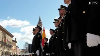 La Policía Nacional celebra los Santos Ángeles Custodios en Zaragoza