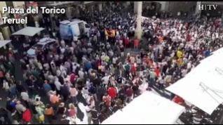 Aragón se detiene para reivindicar una acción política contra la despoblación