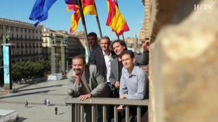 B Vocal pregona a capela en Zaragoza